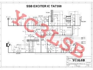 exciter TA7358 REV1.1