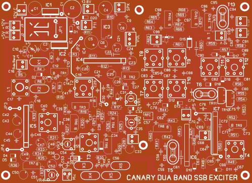 DUA BAND CANARY PCB